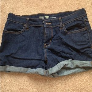 Old Navy Dark Wash Shorts - Size 8